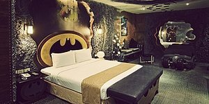 Batman Hotel Room In Taiwan Is All You Need For A Good 'Knight's' Sleep