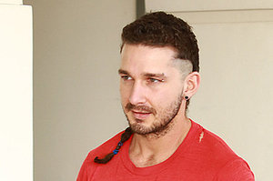 Shia Labeouf Has A Rattail Now