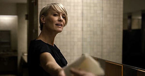 The Best Scene in House of Cards Happens in a Women's Bathroom