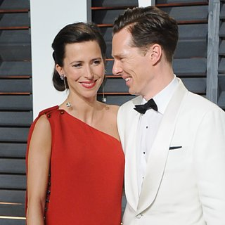 Benedict Cumberbatch and Sophie Hunter Honeymoon Pictu