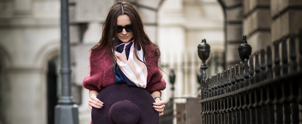 The New Way Everyone Is Wearing Scarves