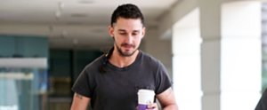 Shia LaBeouf Is Sporting an . . . Interesting New Look