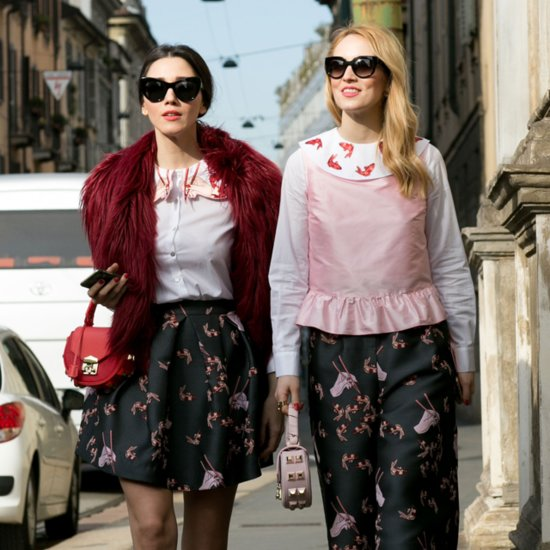 Grab Your BFF and Copy These Street Style Twins