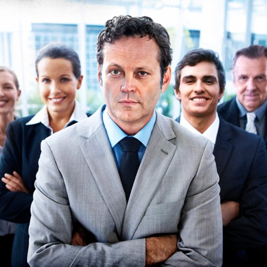 Vince Vaughn Poses For Stock Photos