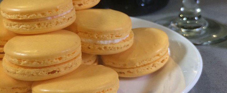 Mimosa Macarons, Because You Deserve Dessert at Brunch