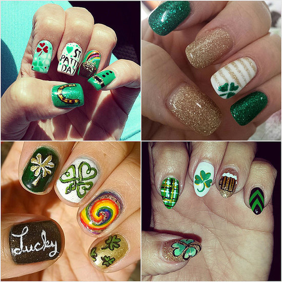 21 St. Patrick's Day Nail Art Ideas to Copy From Instagram