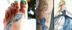 Real-Girl Cinderella Tattoos That Will Make You Feel Like a Princess