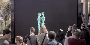 Giant X-Ray Screen Erases Gender, Age, Race To Prove 'We Are All Human'