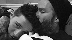 David Beckham Embarrasses His Son Brooklyn With a Super Sweet Happy 16th Birthday Message