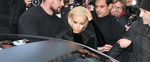 What —You Thought Kim Kardashian Would go to PFW in the Same Old Look?