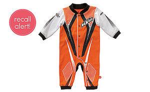 Recall Alert! KTM Baby Pajamas