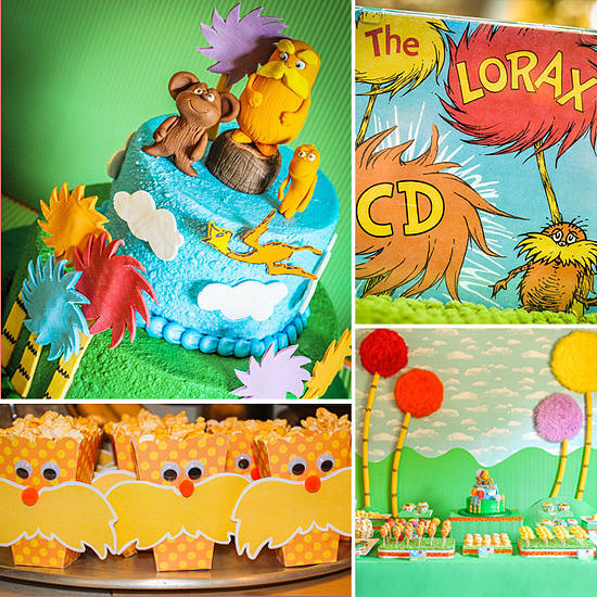 A Lorax-Inspired Birthday Party