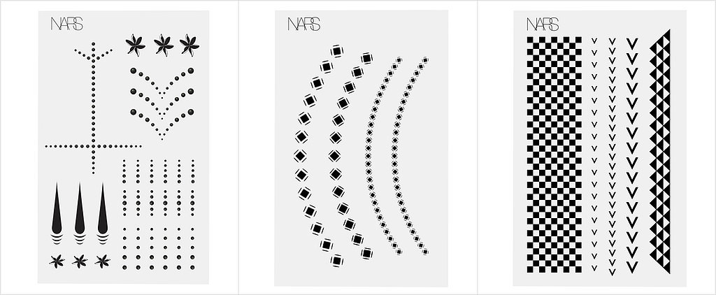 Nars's New Black Temporary Tattoos Are Perfect For Fashion Girls