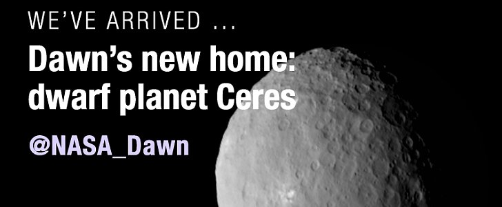 NASA Reached the Planet Ceres, and There's an Incredible GIF to Prove It