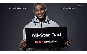 New #LeanInTogether Campaign Supports Gender Equality Movement