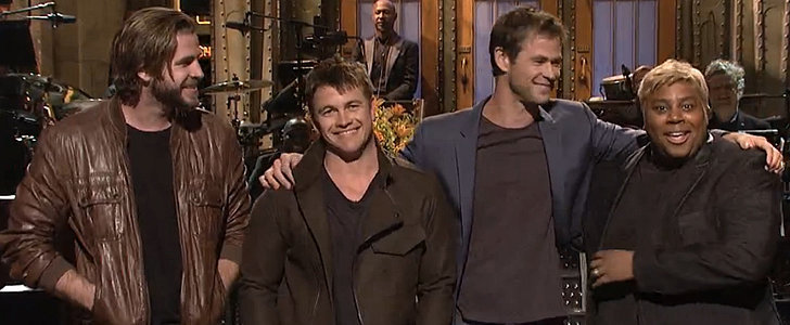 Chris Hemsworth Turns His SNL Debut Into a Funny Family Affair