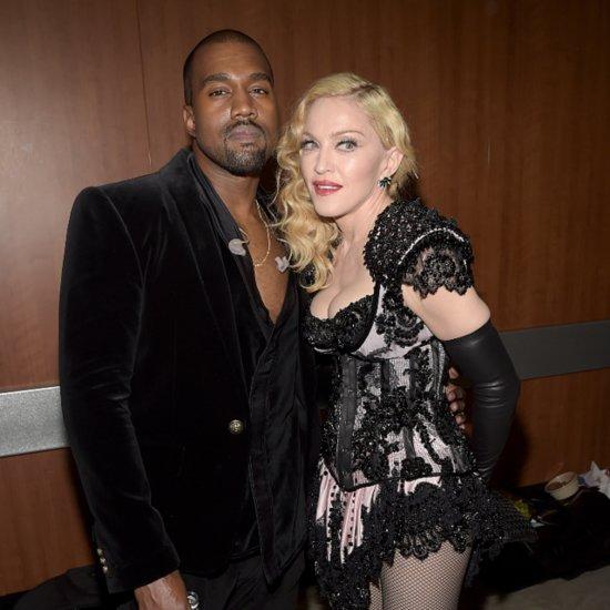 Madonna Praises Kanye West