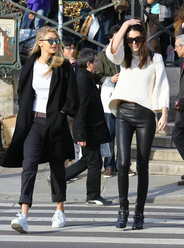Models At Paris Fashion Week Fall 2015 Popsugar Fashion Australia