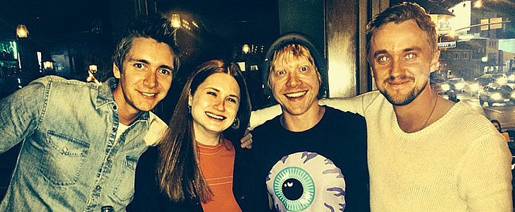 Brace Yourself: Draco Malfoy and the Weasleys Hung Out This Weekend