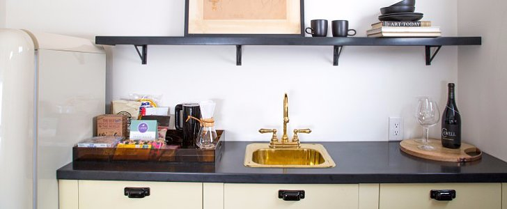 How to Steal the Look of This Mod Kitchenette