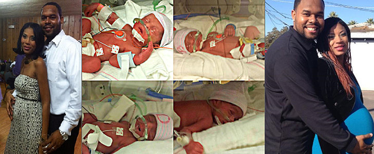 This Crowdfunding Effort For a Widowed Father of Quadruplets Is Wonderful