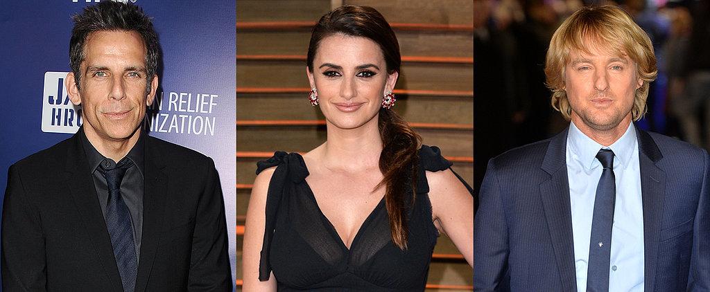 Zoolander 2 Cast: Ben Stiller Confirms Penélope Cruz With an Adorable #FBF