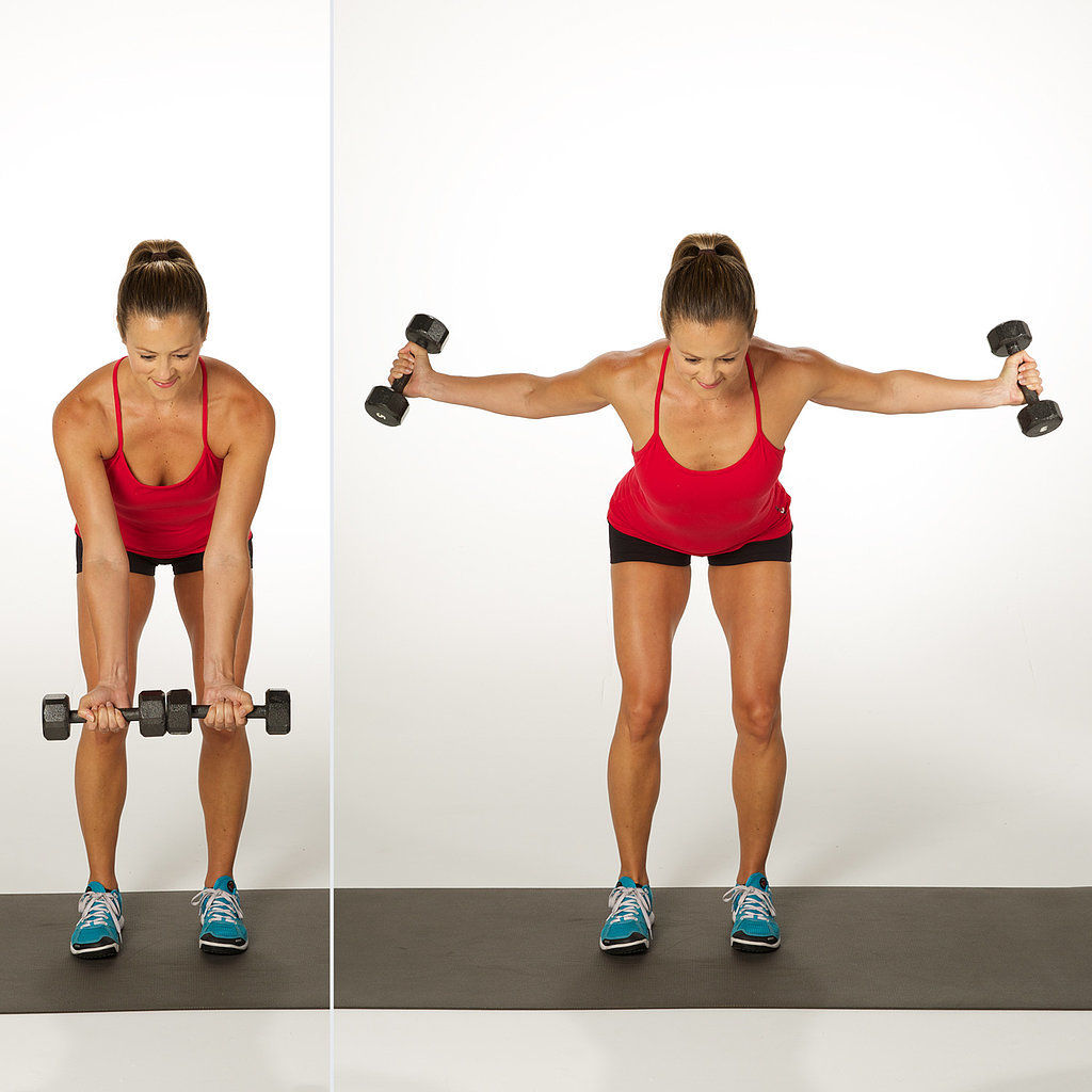 Bent-Over Reverse Fly | 3-Weeks-to-Sculpted-Arms Challenge ...