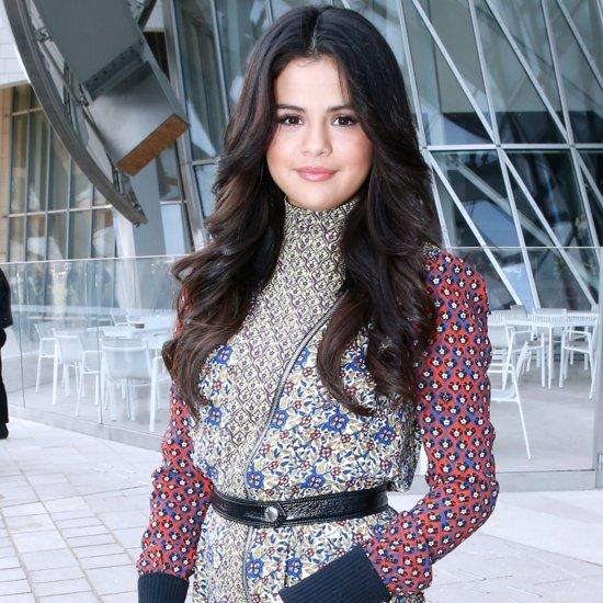 Celebrities at Paris Fashion Week Fall 2015