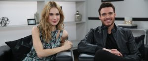 "Cinderella's Lily James and Richard Madden Recall Their ""Quite Weird"" First Meeting"