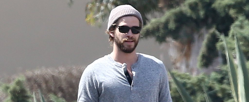 Liam Hemsworth Steps Out With His Skateboard, and We'd Like a Ride
