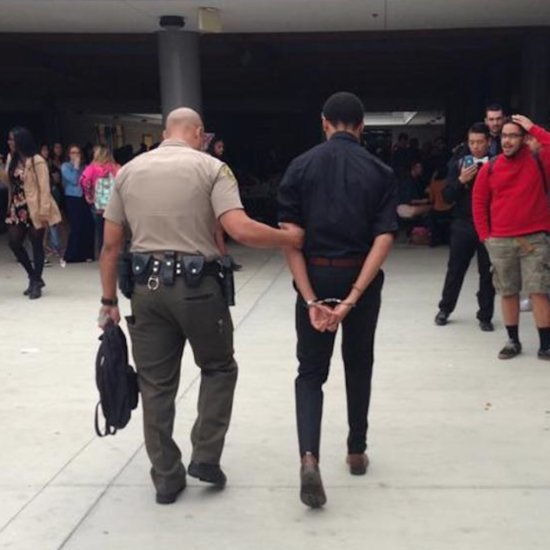 Girl Asks Boyfriend to Prom by Getting Him Arrested