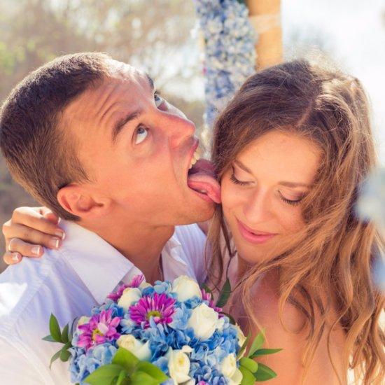 Funny Wedding Stock Photos