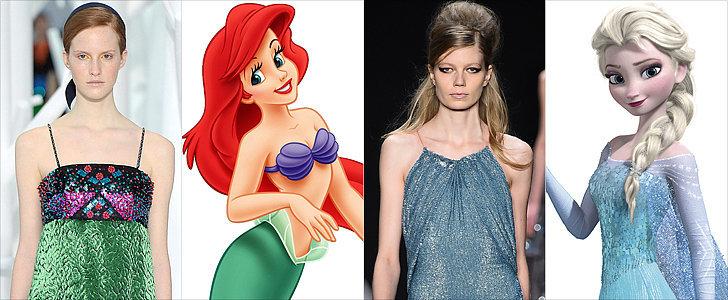 If Disney Princesses Shopped the Autumn 2015 Runways