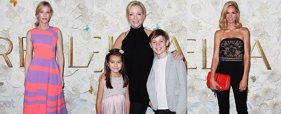 Australian Stars Make It a Family Night at the Sydney Cinderella Premiere