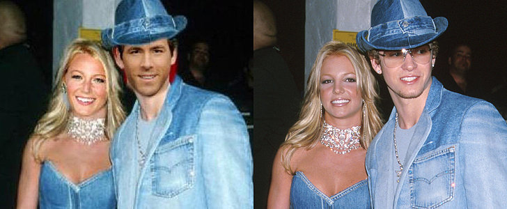 What?! Ryan Reynolds Shares a Photo of Himself and Blake Lively as JT and Britney