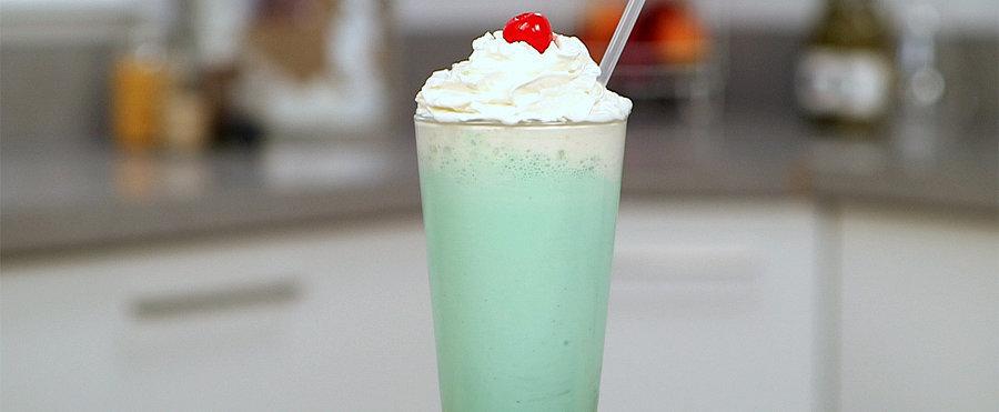 Hack a Minty McDonald's Shamrock Shake