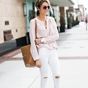 How to Wear White Skinny Jeans For Spring 2015