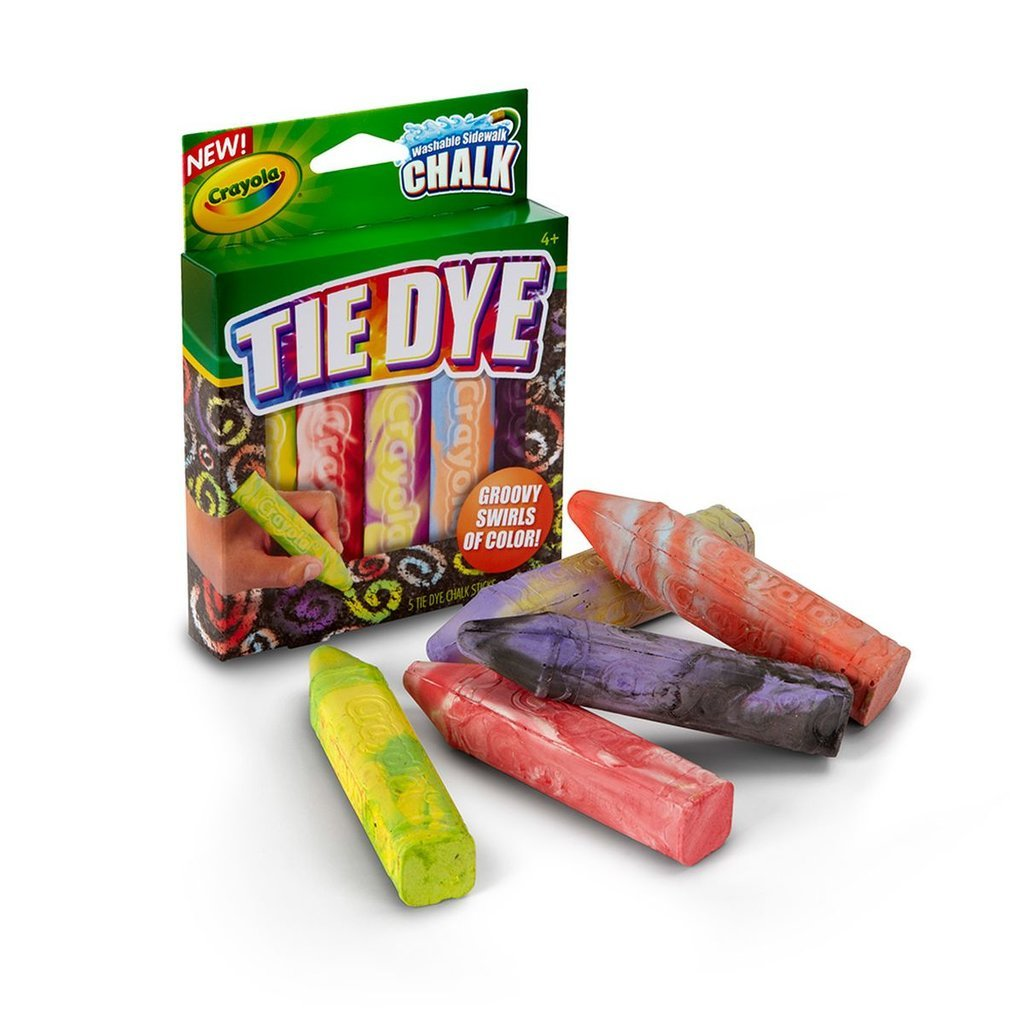 Crayola Special Effects Sidewalk Chalk — Tie Dye