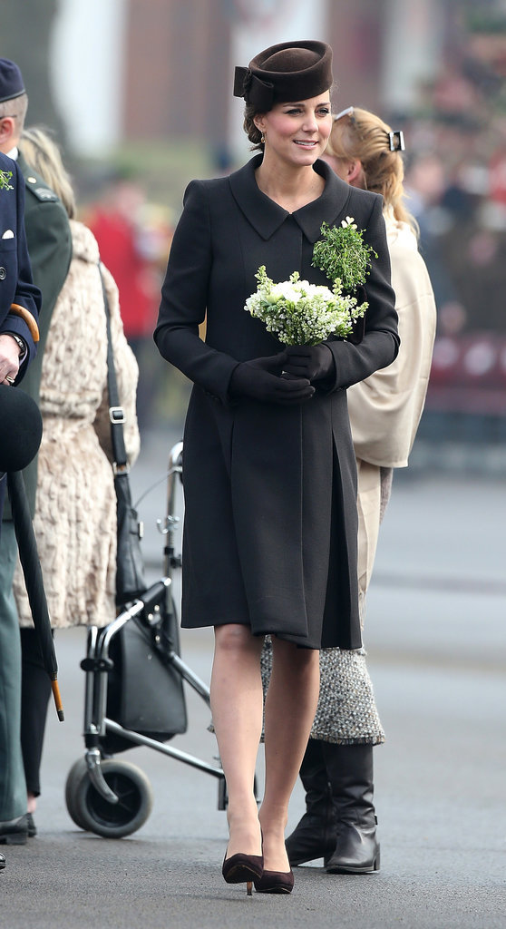 William and kate middleton celebrate st patrick s day at a parade