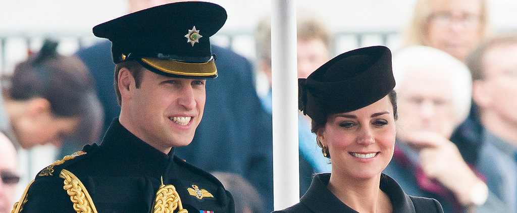 Prince William and Kate Middleton Celebrate St. Patrick's Day at a Parade