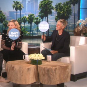 Justin Bieber and Madonna Playing Never Have I Ever on Ellen