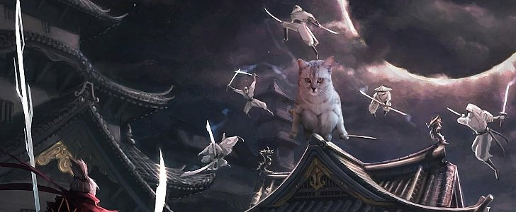These Feline Photoshop Edits Are Sure to Make You Chuckle