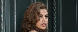 Eva Mendes Teaches Us the New Way to Apply Blush