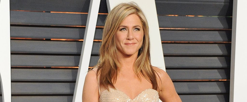 The Secret to Jennifer Aniston's Perfect Blowout Is Sweat