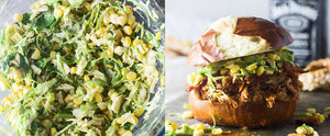 Slow-Cooker Bourbon Chicken Sandwiches With Corn Slaw Scream Summer