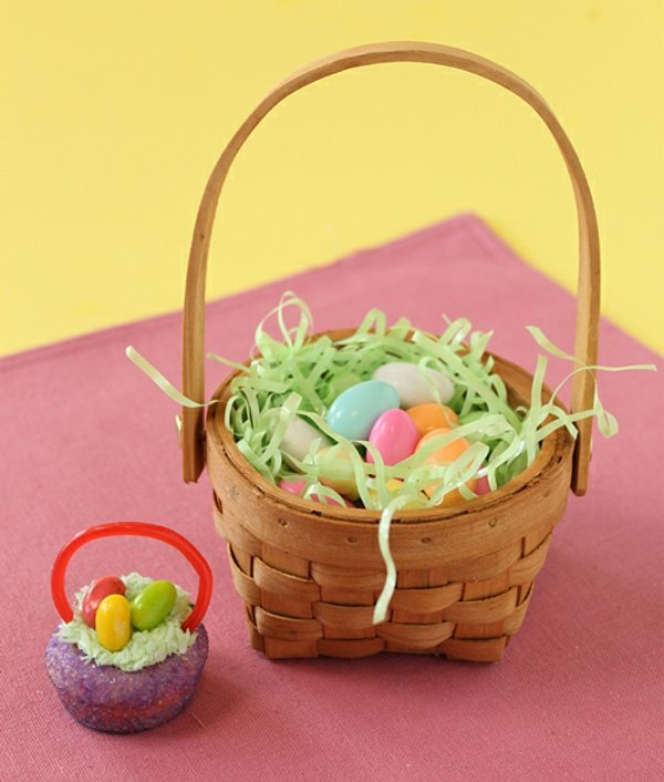 Turn A Traditional Easter Basket Into A Mini Edible
