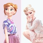 What Disney Characters Look Like in Regular Clothes