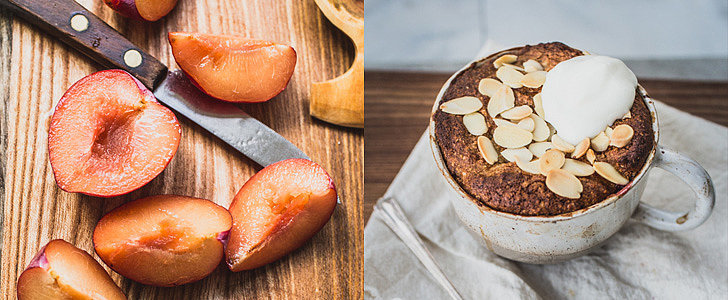 Treat Yourself to an Individual Plum-Almond Cake Tonight