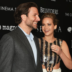 Bradley Cooper and Jennifer Lawrence at Serena Screening NY