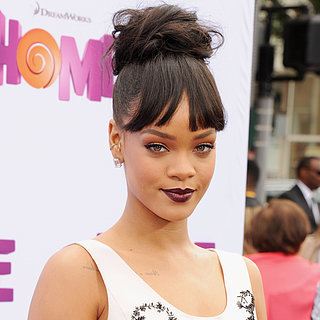 Rihanna Left the Bad-Gal Vibes at Home in This Dior Dress